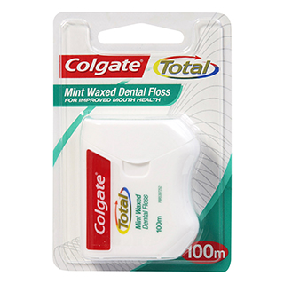 Image for Colgate Dental Floss Total - 100m from Amcal