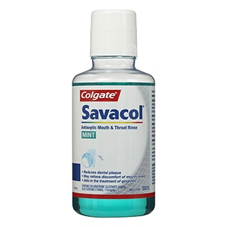 Image for Colgate Savacol Rinse Mint - 300mL from Amcal