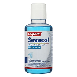 Image for Colgate Savacol Mouth Rinse Freshmint - 300mL from Amcal