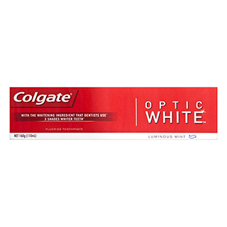 Image for Colgate Optic White Toothpaste - 160g from Amcal