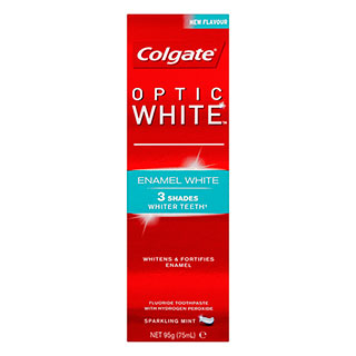 Image for Colgate Optic White Enamel White Toothpaste - 110g from Amcal