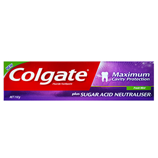 Image for Colgate Maximum Cavity Protection  Fresh Mint Toothpaste - 110g from Amcal