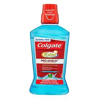 Image for Colgate Total Mouthwash Peppermint - 500ml from Amcal