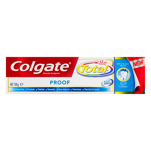Image for Colgate Total Proof Toothpaste - 100g from Amcal