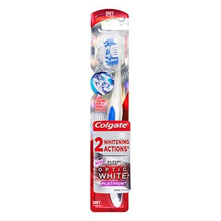 Image for Colgate 360 Degree Optic White Toothbrush - Soft from Amcal