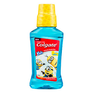 Image for Colgate Kids Minions Anticavity Rinse - 250mL from Amcal