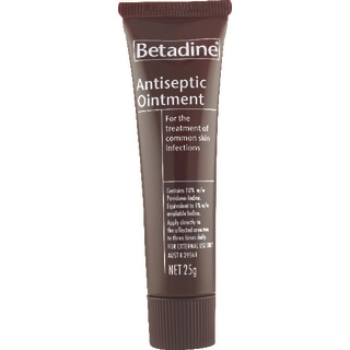 Image for Betadine Antiseptic Ointment - 25g from Amcal