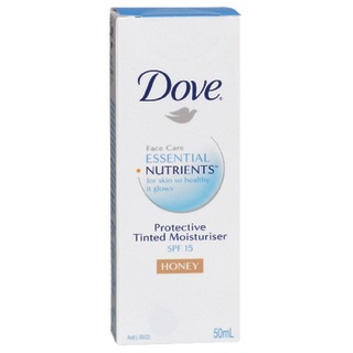 Image for Dove Essential Nutrients Tinted Moisturiser SPF 15 Honey - 50mL from Amcal