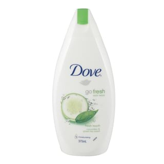 Image for Dove Body Wash Go Fresh Cucumber - 375mL from Amcal