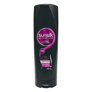 Image for Sunsilk Co-Creations Longer Stronger Teddy Charles Conditioner - 200ml from Amcal