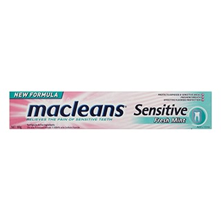 Image for Macleans Toothpaste Sensitive - 100g from Amcal