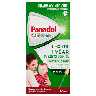 Image for Panadol Drops Colourfree Cherry/Vanilla - 20ml from Amcal