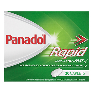 Image for Panadol Rapid - 20 Caplets from Amcal