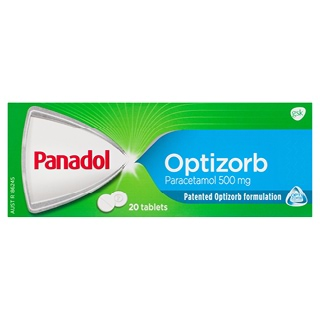Image for Panadol Optizorb Tablets - 20 Pack from Amcal