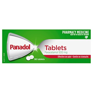 Image for Panadol Tablets - 50 Pack from Amcal