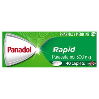 Image for Panadol Rapid - 40 Caplets from Amcal