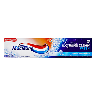Image for MacLeans Toothpaste Extreme Fresh Clean - 170g from Amcal