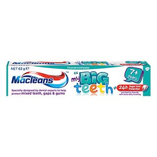 Image for Macleans Toothpaste Big Teeth - 63g from Amcal