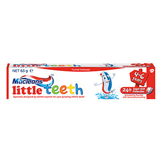 Image for Macleans Toothpaste Little Teeth - 63g from Amcal