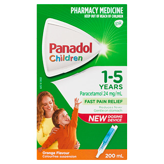 Image for Panadol Child 1-5Yr Orange - 200mL from Amcal