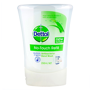Image for Dettol No-Touch Refill Antibacterial Hand Wash Aloe Vera Vit E - 250mL from Amcal
