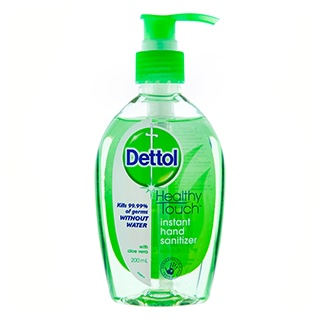 Image for Dettol Healthy Touch Instant Hand Sanitiser Refresh - 200mL from Amcal