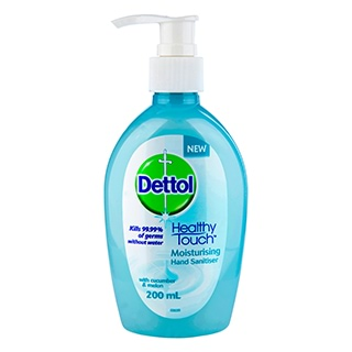 Image for Dettol Healthy Touch Moisturising Hand Sanitiser Cucumber Melon- 200mL from Amcal