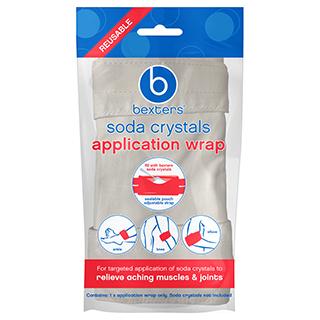 bexters soda crystals application wrap 1 pack amcal. Black Bedroom Furniture Sets. Home Design Ideas