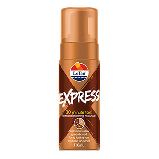 Image for LeTan Express Instant Bronzing Mousse 110ml from Amcal