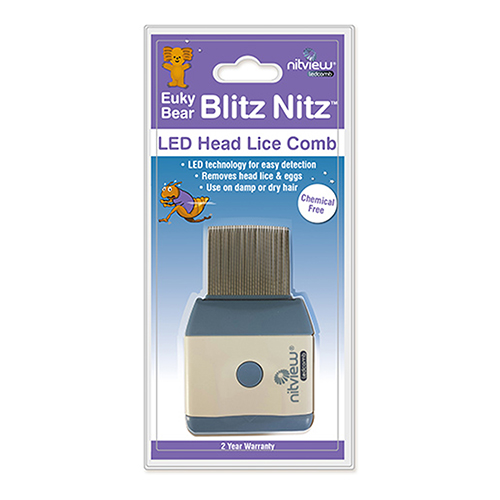 Image for Euky Bear Blitz Nitz Nitview LED Comb from Amcal