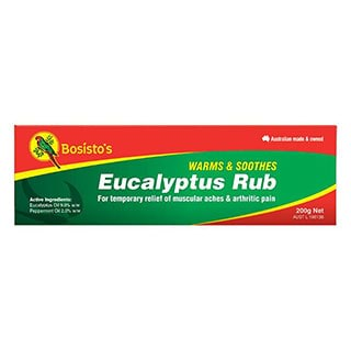 Image for Bosistos Eucalyptus Rub - 200g from Amcal