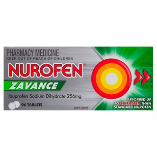 Image for Nurofen Zavance - 96 Tablets from Amcal