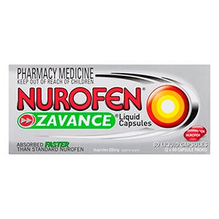 Image for Nurofen Zavance Liquid - 80 Capsules from Amcal