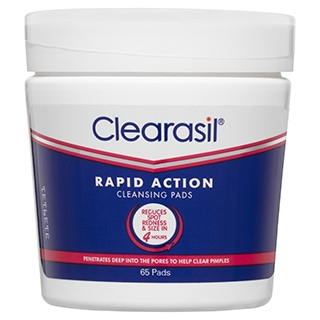 Image for Clearasil Ultra Rapid Action Face Wipe - 65 Pads from Amcal