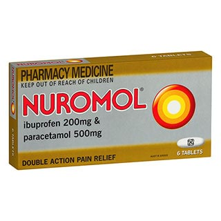 Image for Nuromol Tablets 6 Pack from Amcal