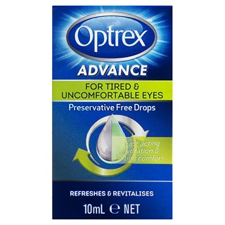 Image for Optrex Advance Preservative Free Tired Eye Drops - 10mL from Amcal
