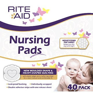 Image for Rite Aid Nursing Pads - 40 Pack from Amcal