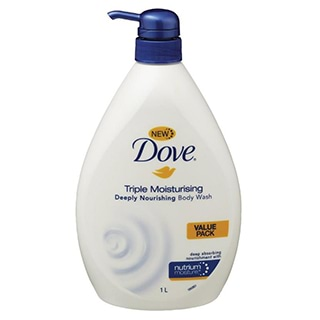 Image for Dove Triple Moisturising Deeply Nourishing Body Wash - 1L from Amcal