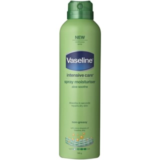 Image for Vaseline Intensive Care Spray Moisturiser Aloe Soothe - 190g from Amcal