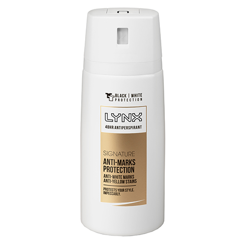 Image for Lynx Signature Anti-Marks Protection Antiperspirant Aerosol Deodorant - 160mL from Amcal