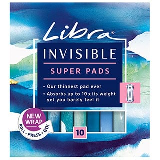 Image for Libra Invisible Super - 10 Pack from Amcal