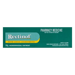 Image for Rectinol Ointment - 50G from Amcal