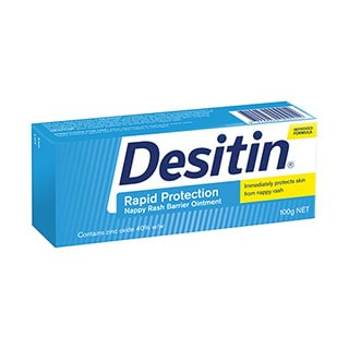 Image for Desitin Nappy Rash Ointment - 100g from Amcal