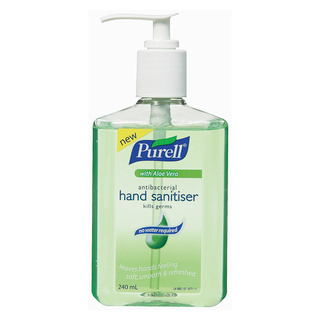 Image for Purell Antibacterial Hand Sanitiser with Aloe Vera Pump - 240mL from Amcal