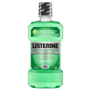Image for Listerine Teeth Defence Mouthwash - 500mL from Amcal
