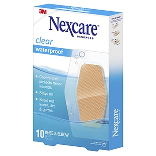 Image for Nexcare Waterproof Large - 10 Pack from Amcal
