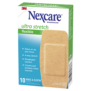 Image for Nexcare Soft n Flex Strips Large - 10 Pack from Amcal
