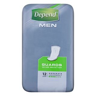 Image for Depend Guards for Men - 12 Pack from Amcal