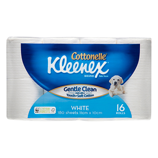Image for Kleenex Cottonelle Toilet Tissue - 16 Pack from Amcal