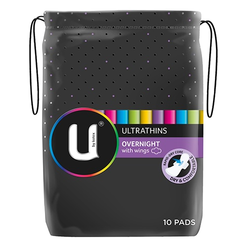 Shop for U by Kotex Pads in U by Kotex. Buy products such as U by Kotex Security Maxi Overnight Pads, Regular, Unscented, 40 Count at Walmart and save.